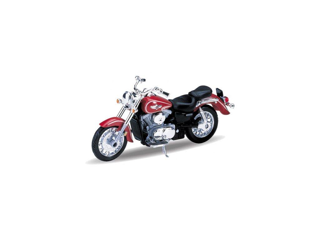 Kawasaki 2002 Vulcan 1500 Classic (red) 1:18