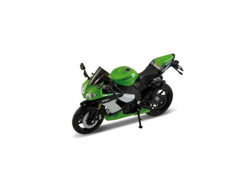 Kawasaki 2009 Ninja ZX-10R (green) 1:18