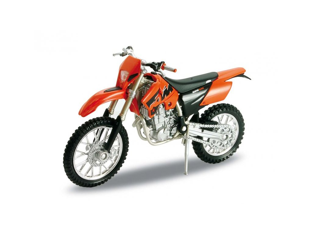 KTM 525 EXC (orange) 1:18