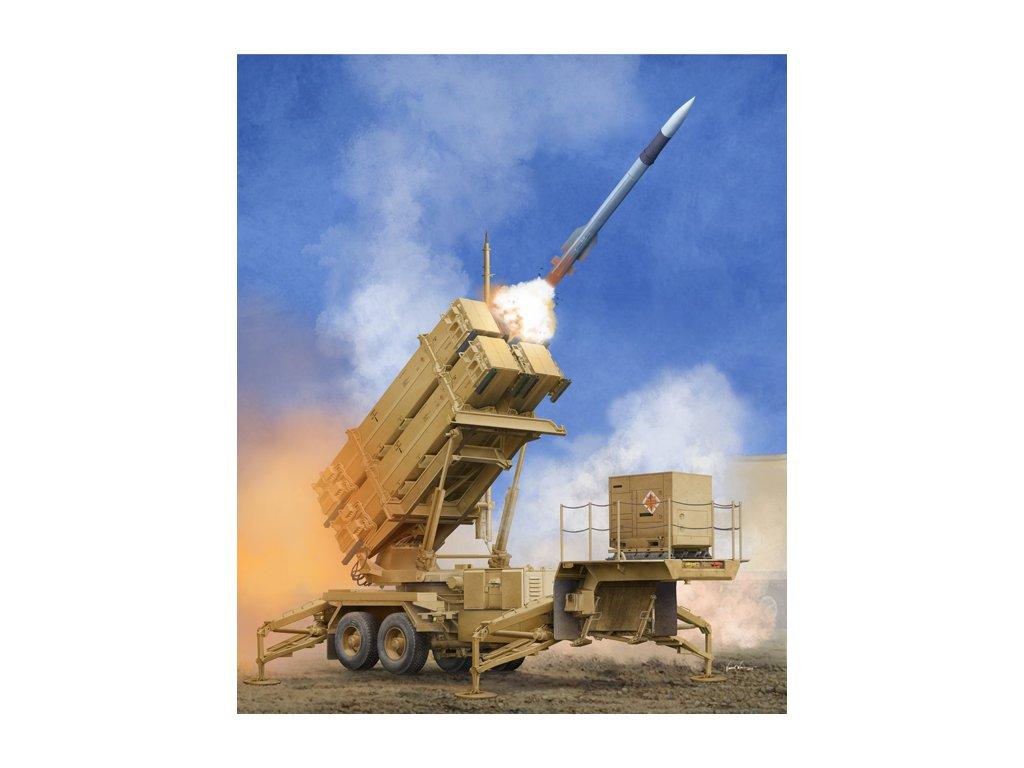 US M901 Launching Station w/MIM-104F Patriot SAM System (PAC-3) 1:35