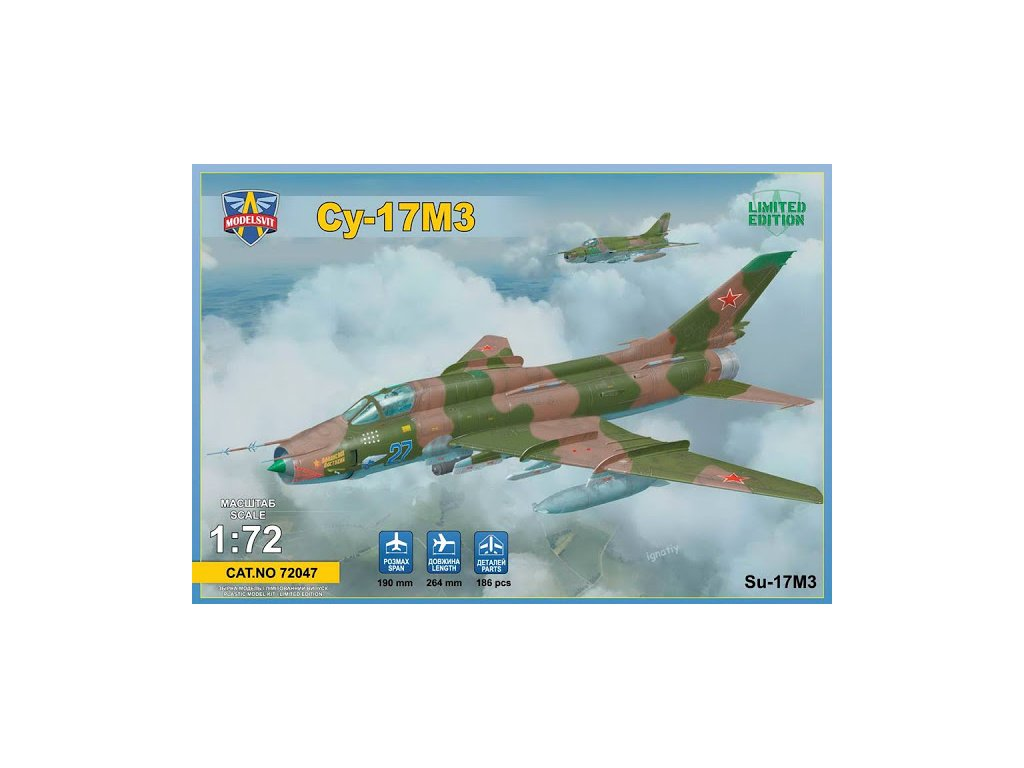 Sukhoi Su-17M3 Limited Edition 1:72