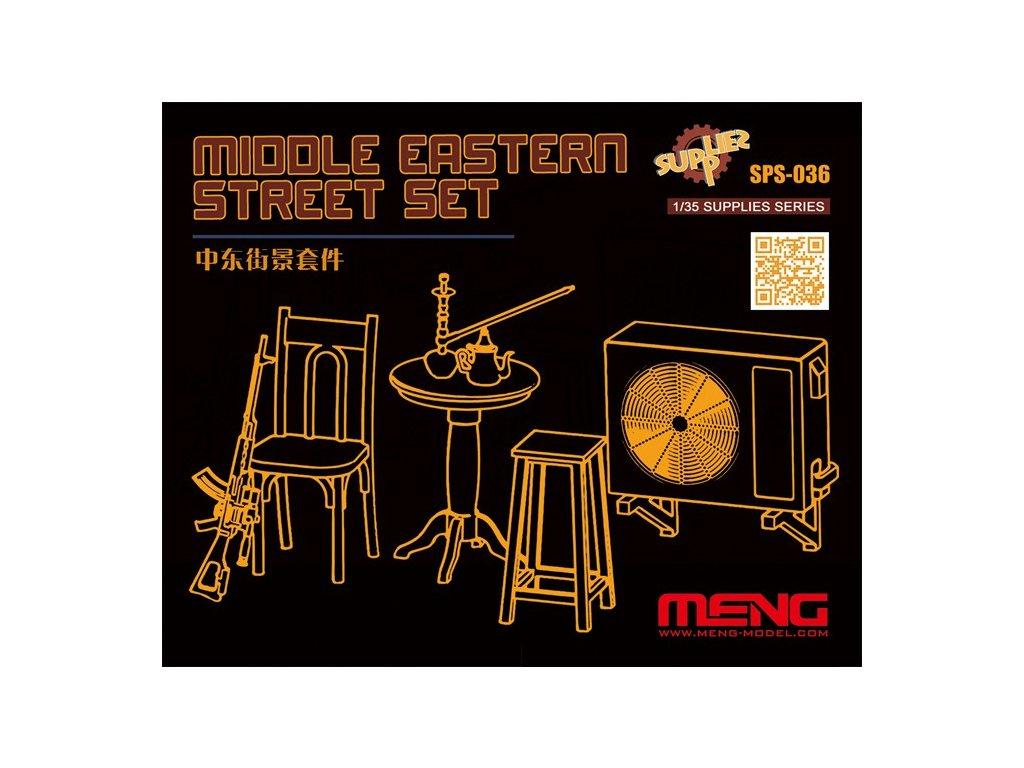 Middle Eastern Street Set (Resin) 1:35