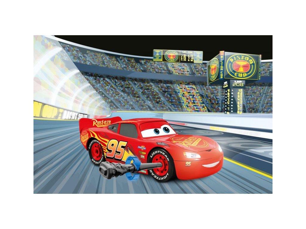 REVELL Cars 3 - Blesk McQueen (svetelné a zvukové efekty) Junior Kit 1:20