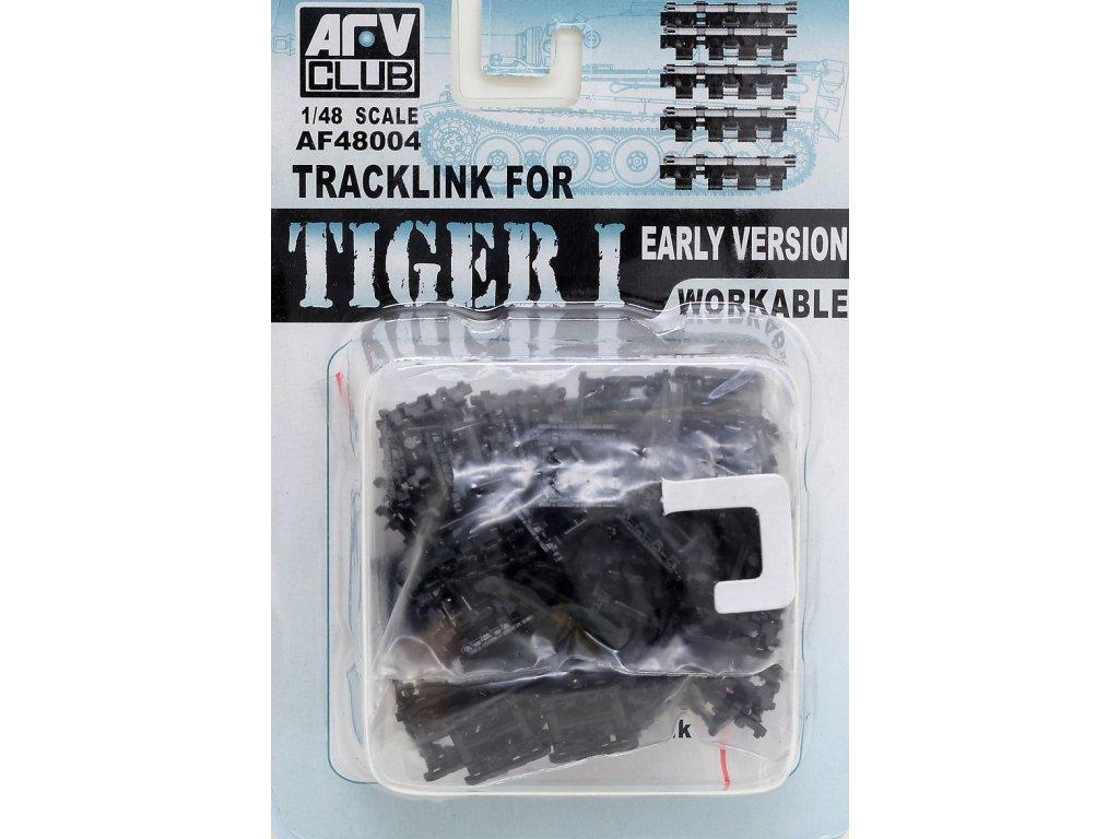 Pásy pre skorú verziu Tiger I 1:48