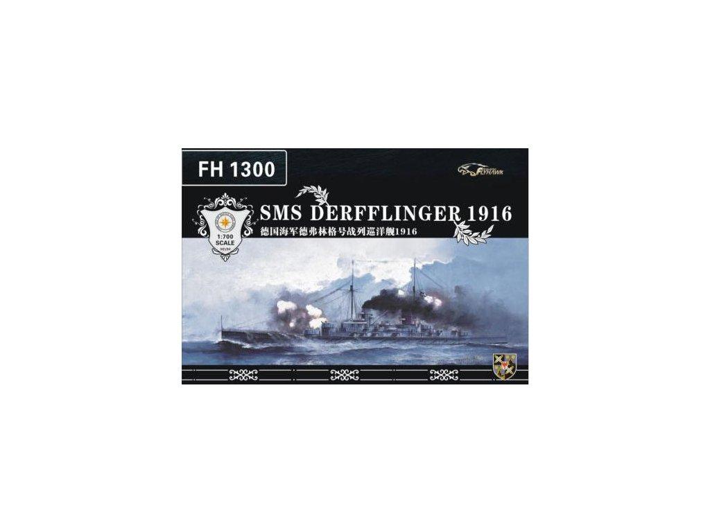 SMS Derfflinger 1916 1:700