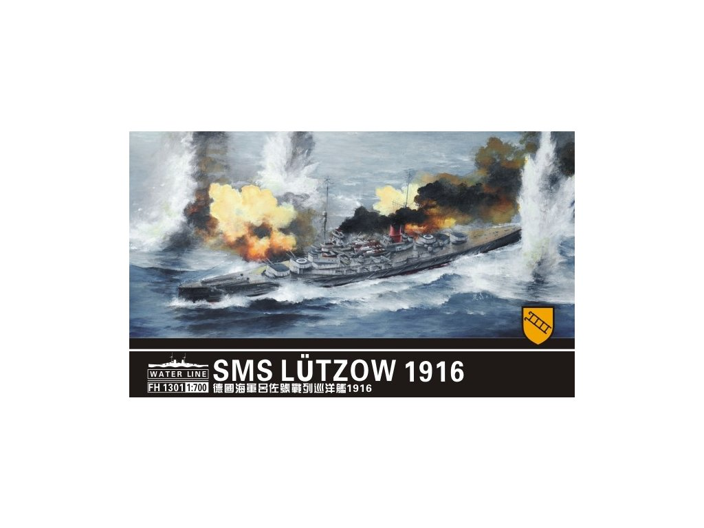 SMS Lutzow 1916 1:700