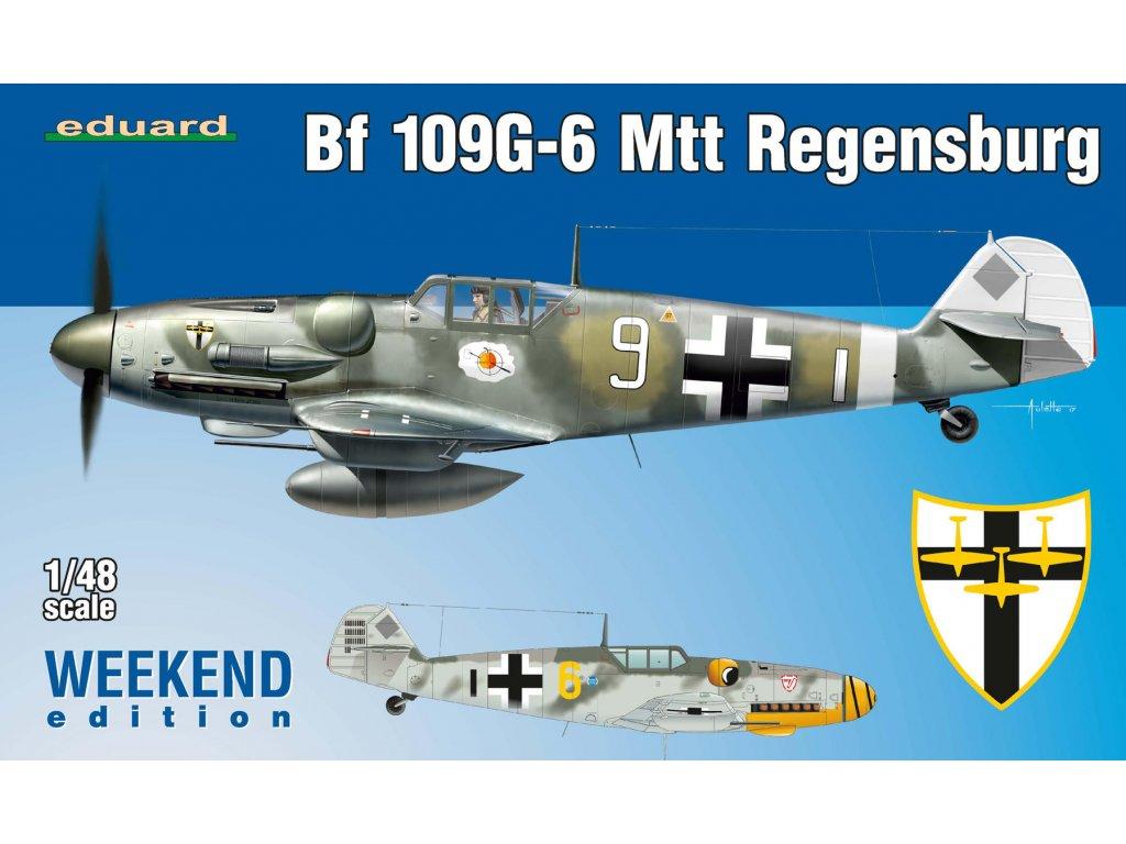 Bf 109G-6 MTT Regensburg 1:48
