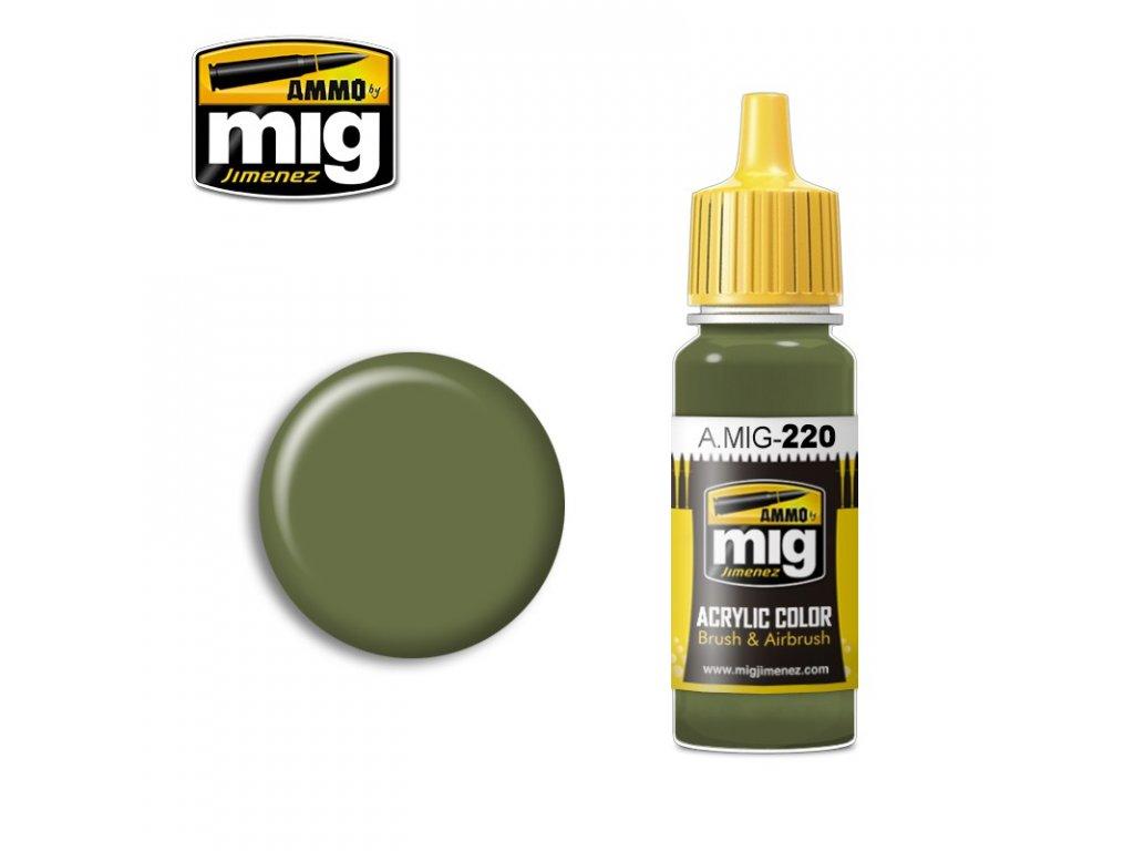 Zinc Chromate Green (Interior) FS34151 / pozinkovaná zelená - interiérová