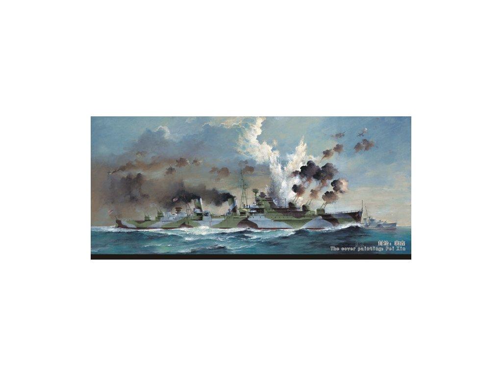 HMS Naiad Light Cruiser 1940 1:700