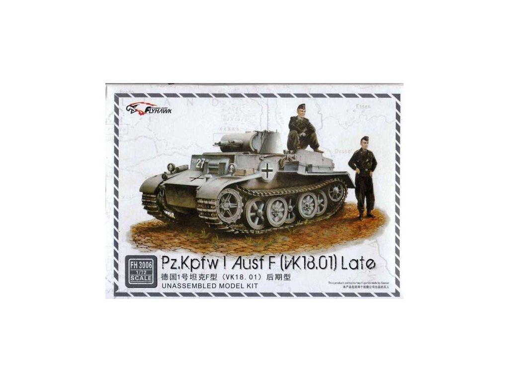Panzer I Ausf. F (inkl. 2 Figuren) 1:72