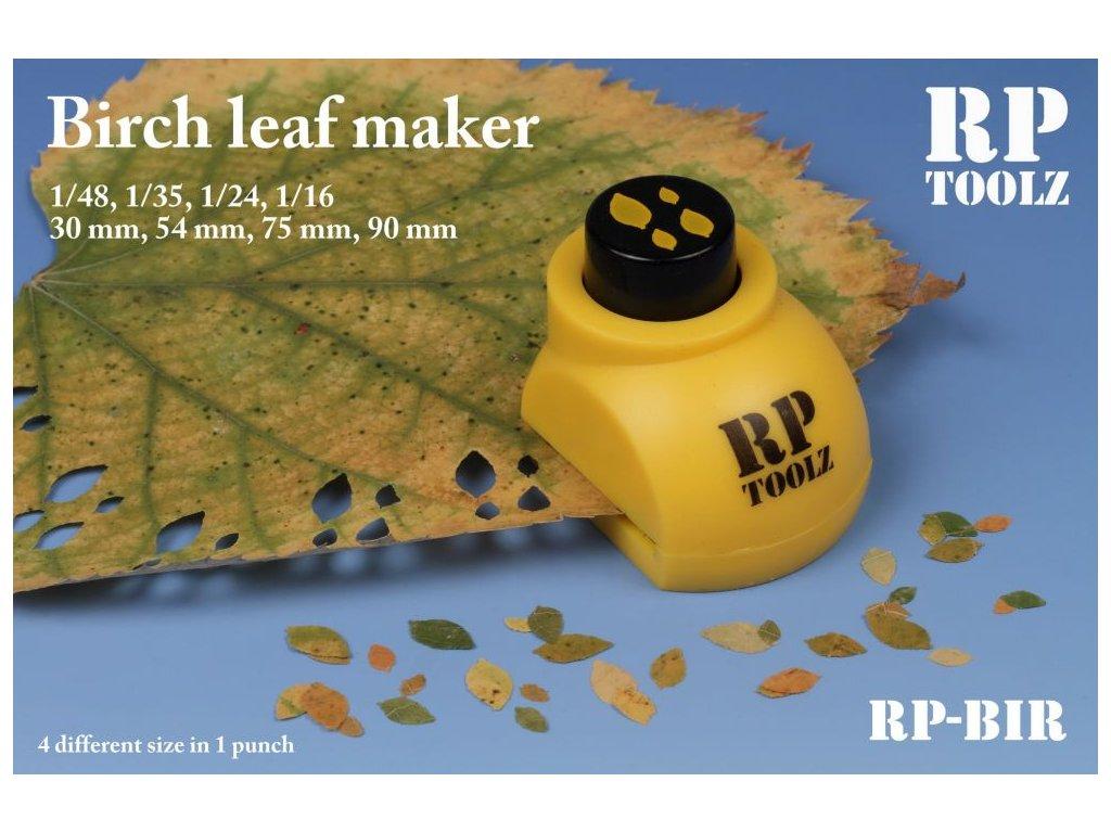 Nástroj na výrobu brezových listov