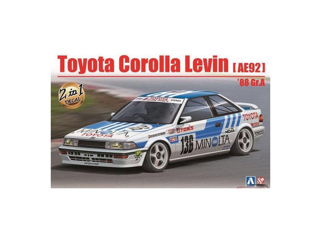 Toyota Corolla levin AE92 1:24