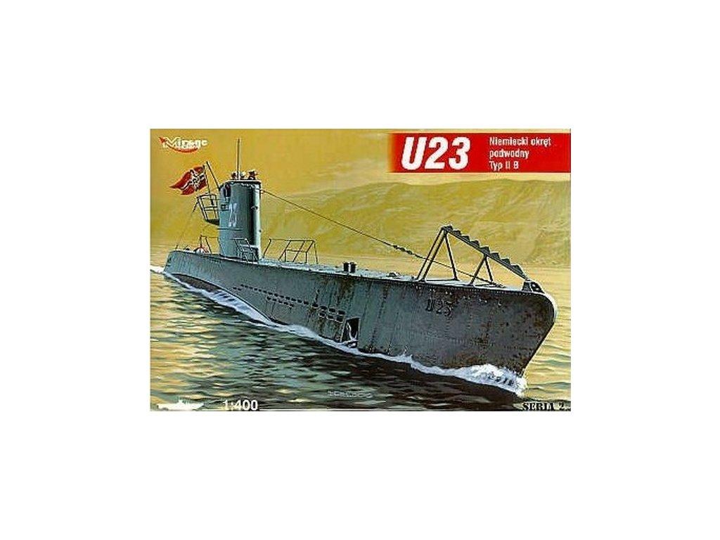 Deutsches U-Boot U 23 Typ IIB 1:400