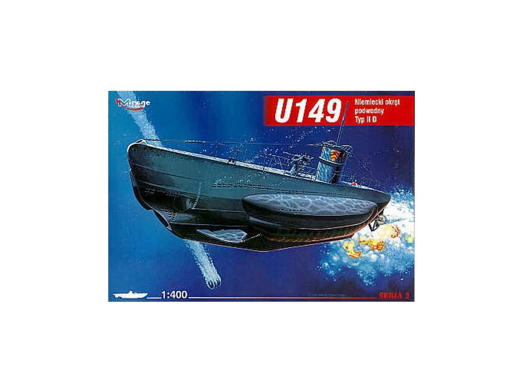 Deutsches U-Boot U 149 Typ IID 1:400