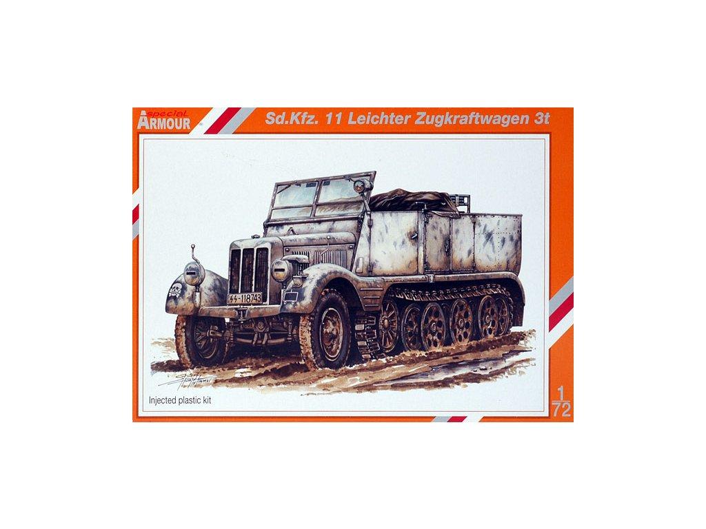 SdKfz 11 Leichter Zugkraftwagen 3t 1:72