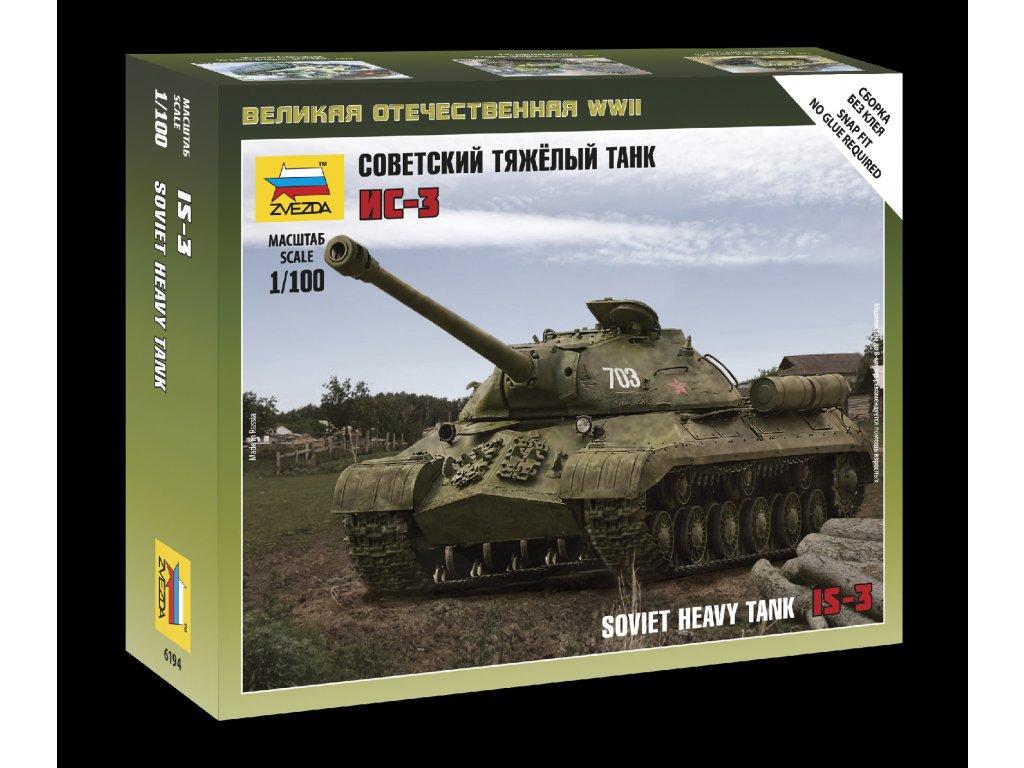 Soviet Tank IS-3 1:100