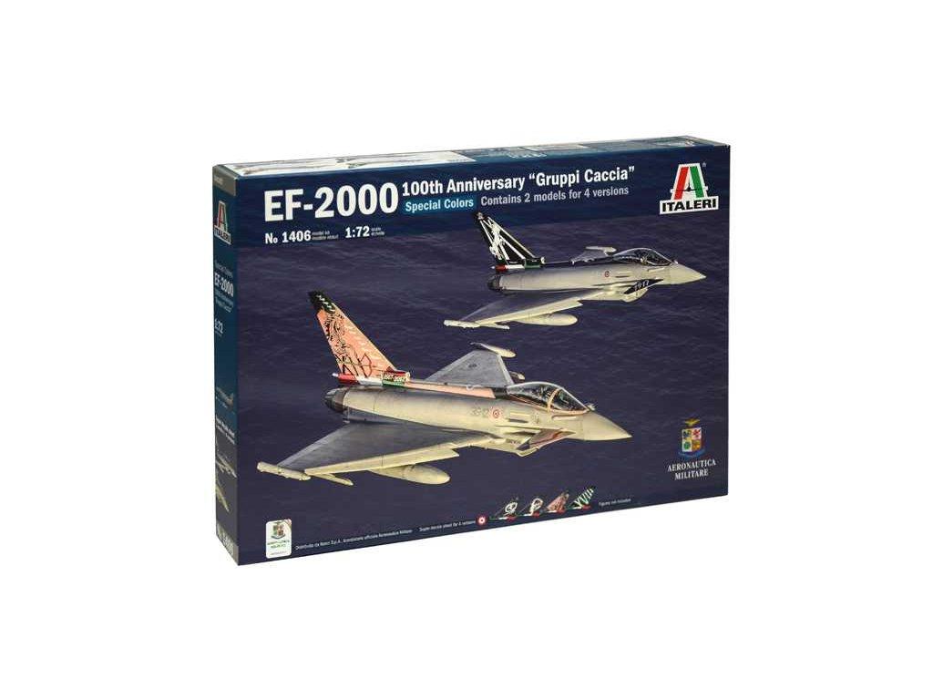 "EF-2000 100th Anniversary ""Gruppi Caccia"" Special Colors 1:72"