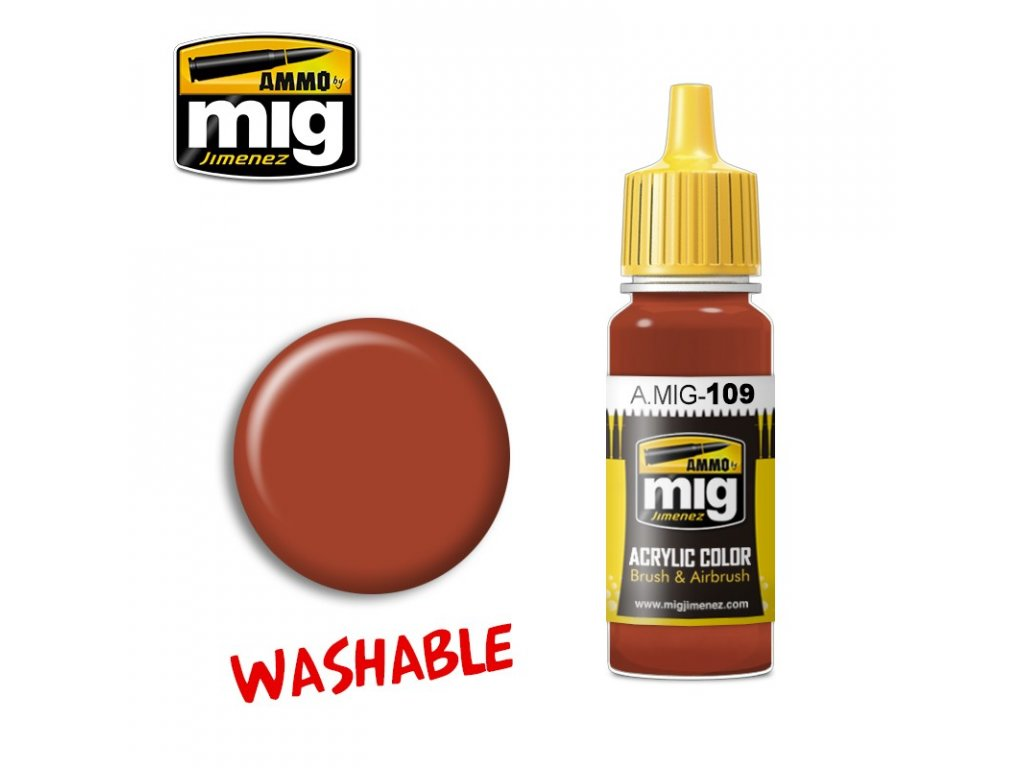 Washable Rust