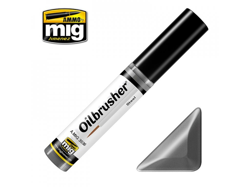 Oil Paint - Steel