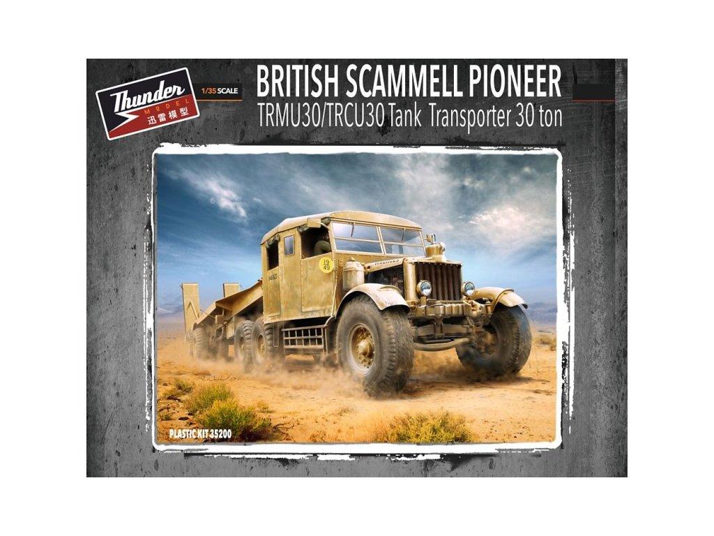 Scammel Pioneer TRMU30/TRCU30 Tank Transporter 1:35