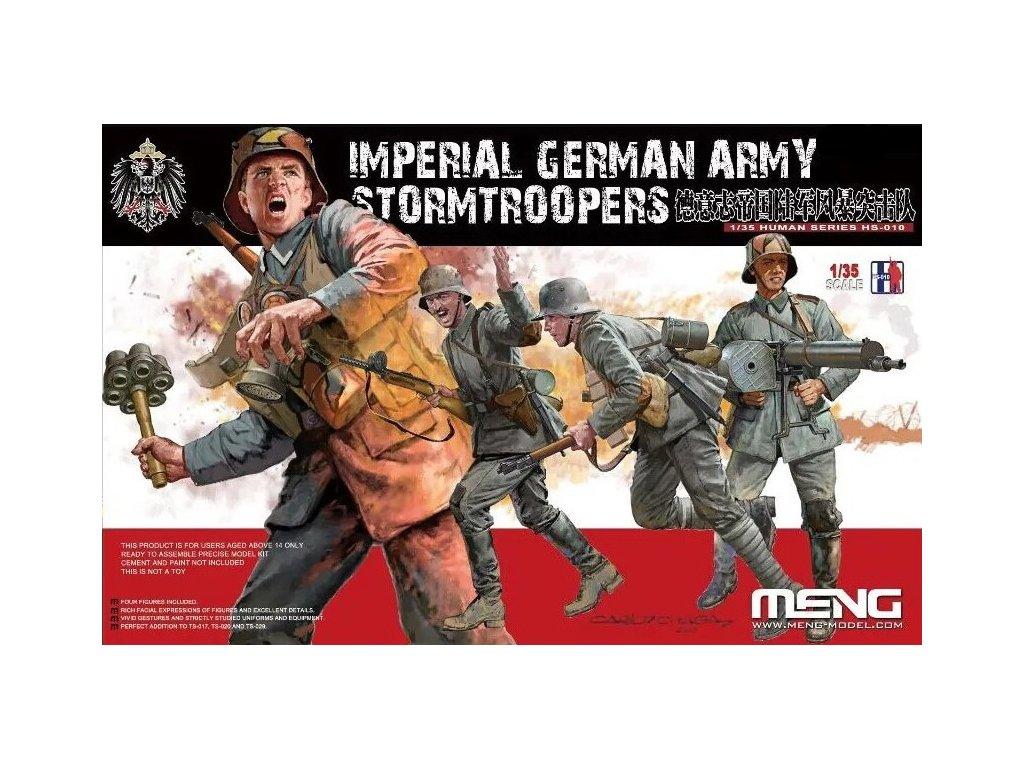 Imperial German Army Stormtroopers 1:35