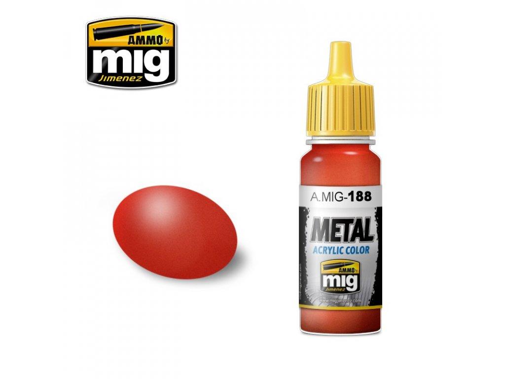 Metallic Red / kovová - červená