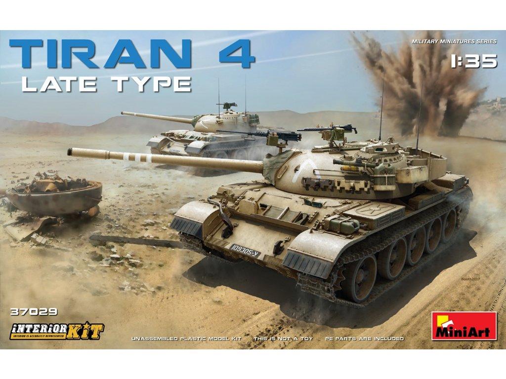 Tiran 4 Late Type. Interior Kit 1:35