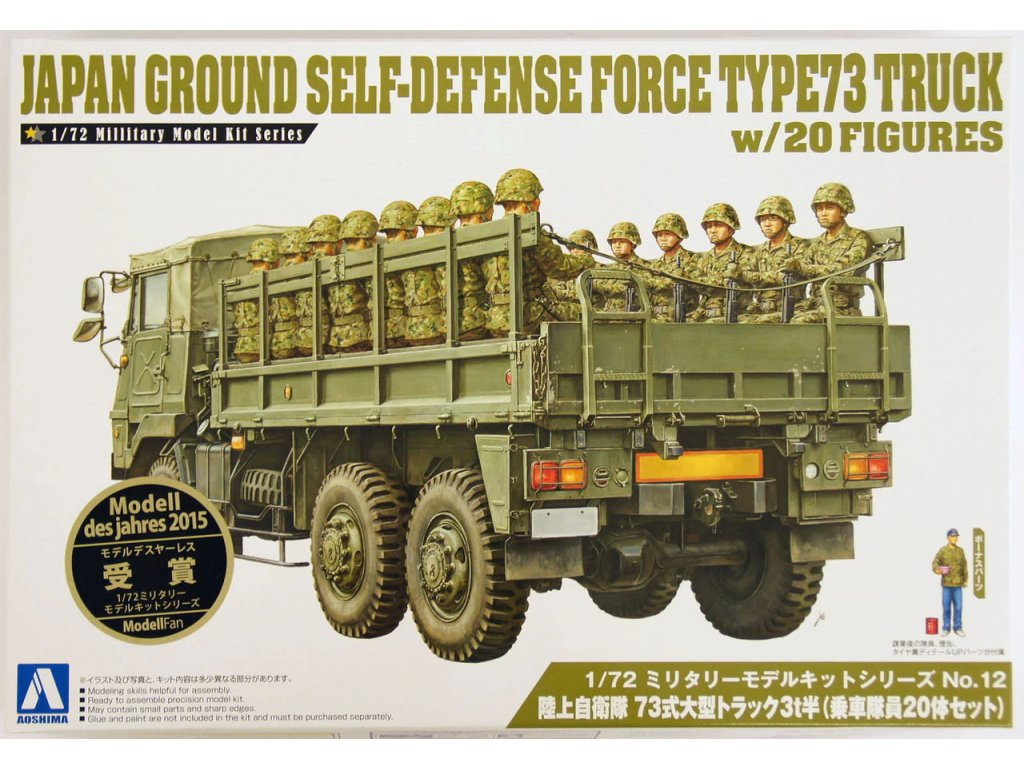 JGSDF Type 73 Truck 1:72