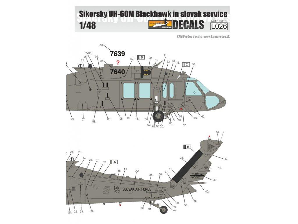 Sikorsky UH-60M Black Hawk in Slovak Service 1/48