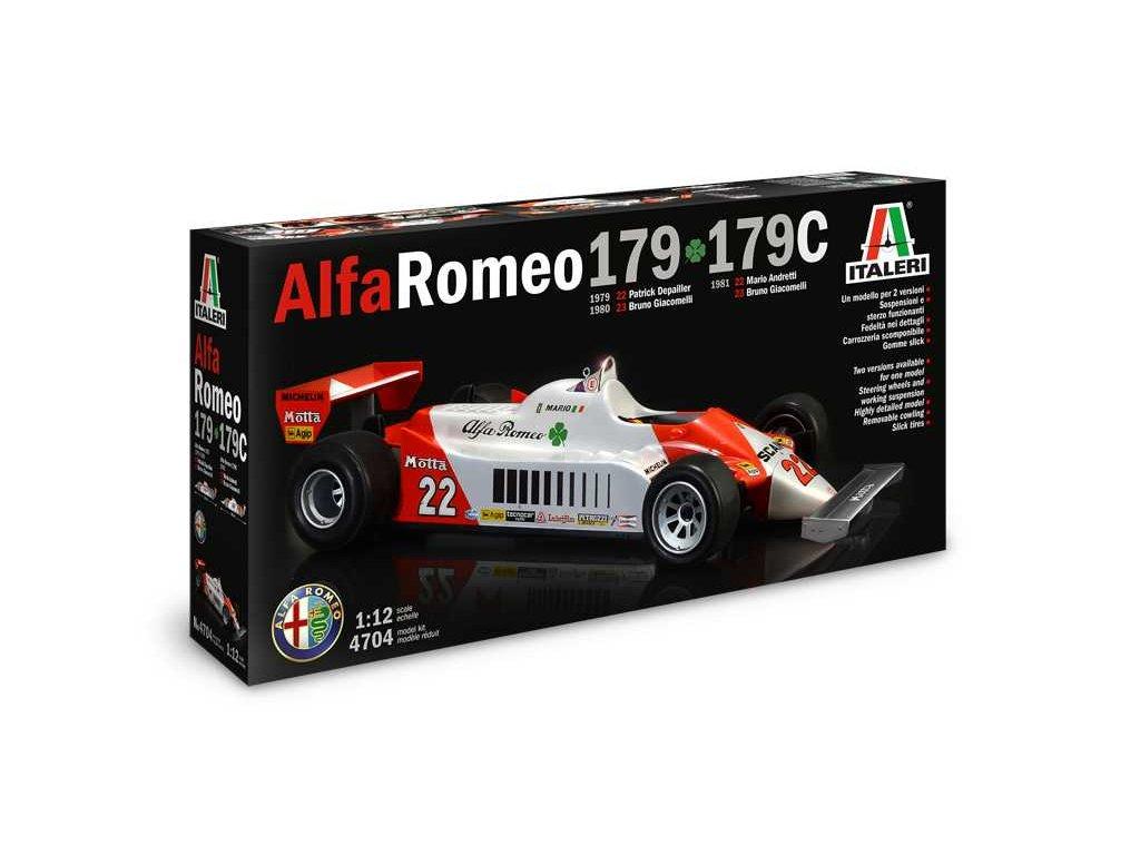 Alfa Romeo 179 - 179C 1:12