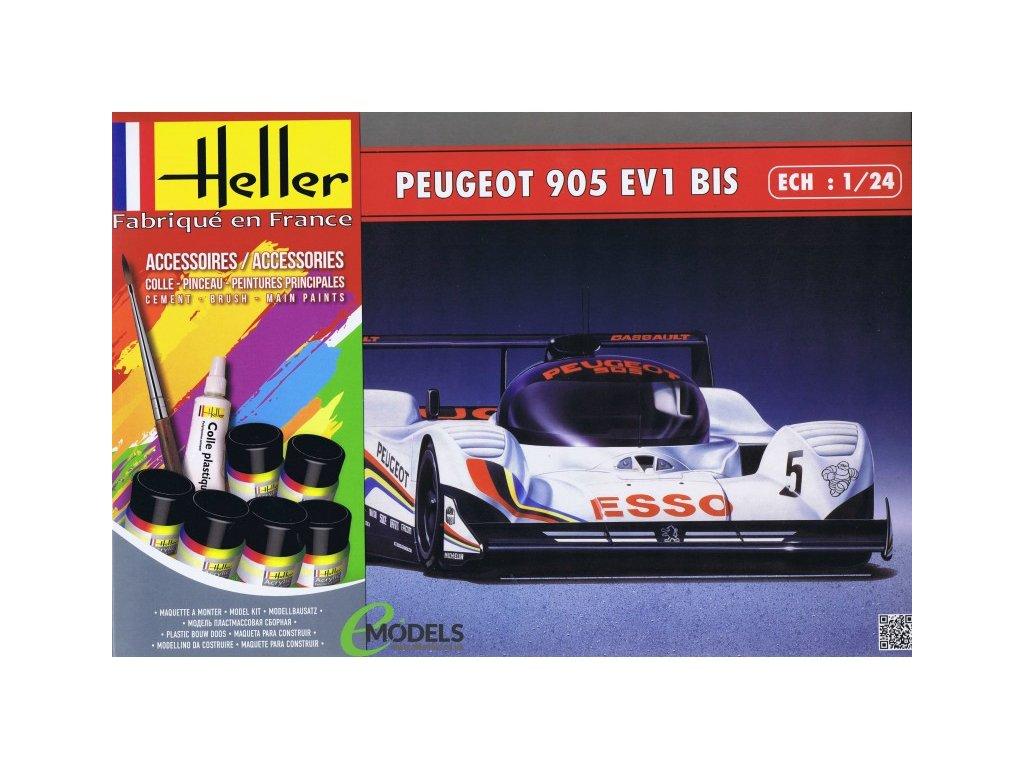 Peugeot 905 EV 1 BIS Model Set 1:24