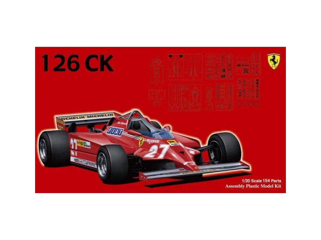 Ferrari 126CK 1981 1:20