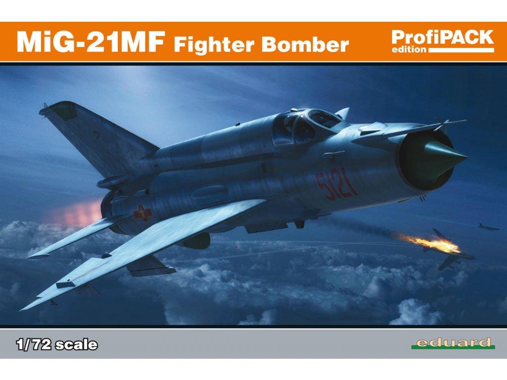 MiG-21MF Fighter-Bomber 1:72