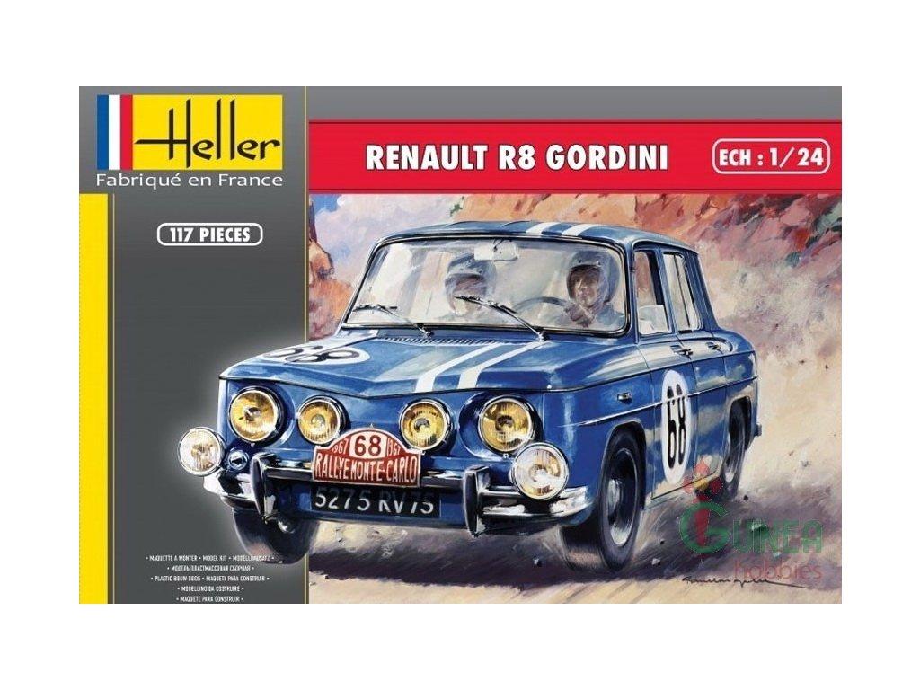 Renault R8 Gordini 1:24