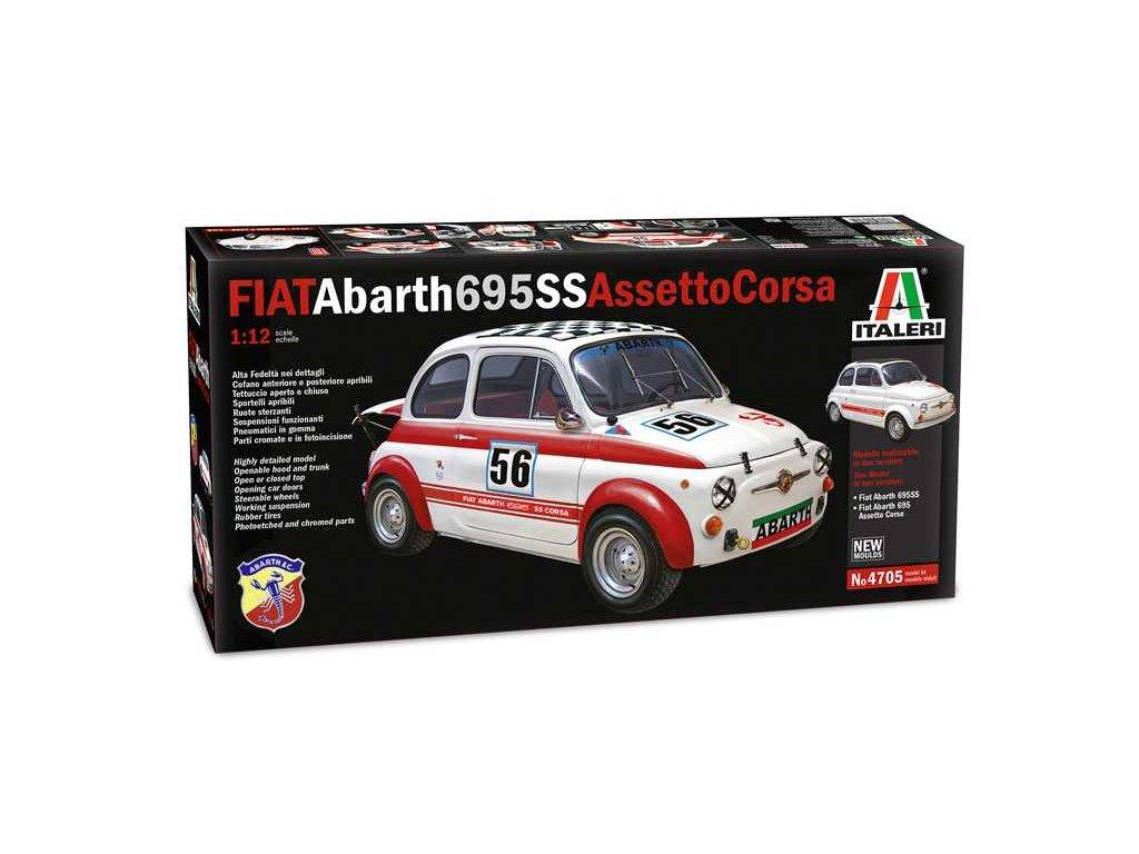 FIAT Abarth 695SS/Assetto Corsa 1:12