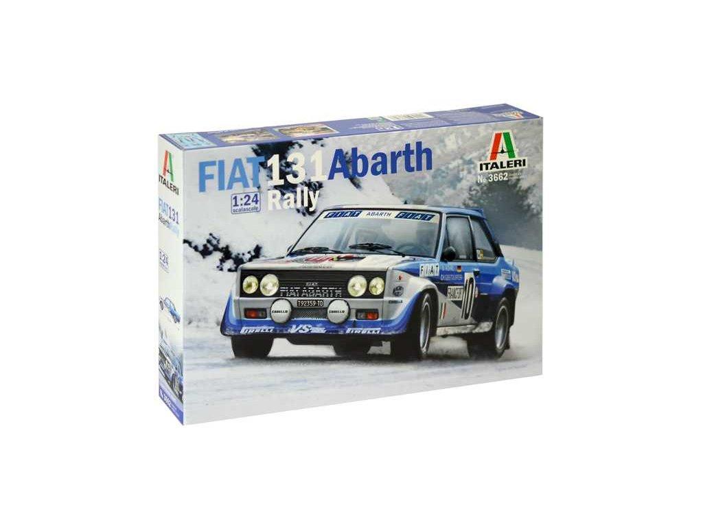 FIAT 131 Abarth Rally 1:24