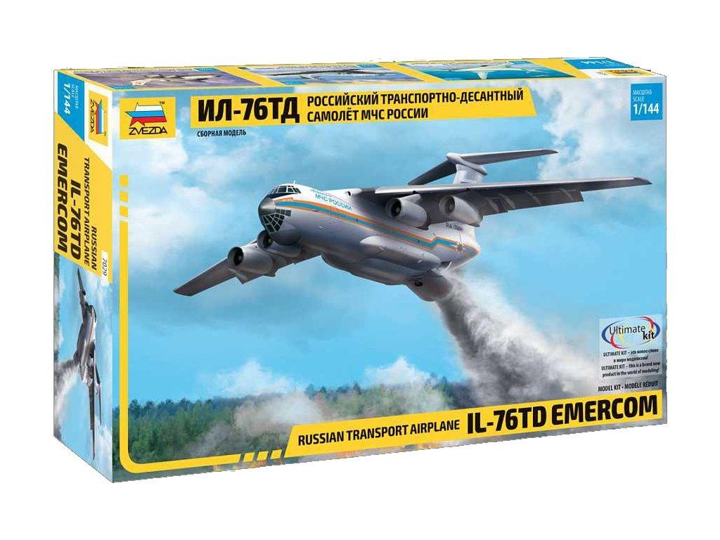 IL-76 TD EMERCOM 1:144