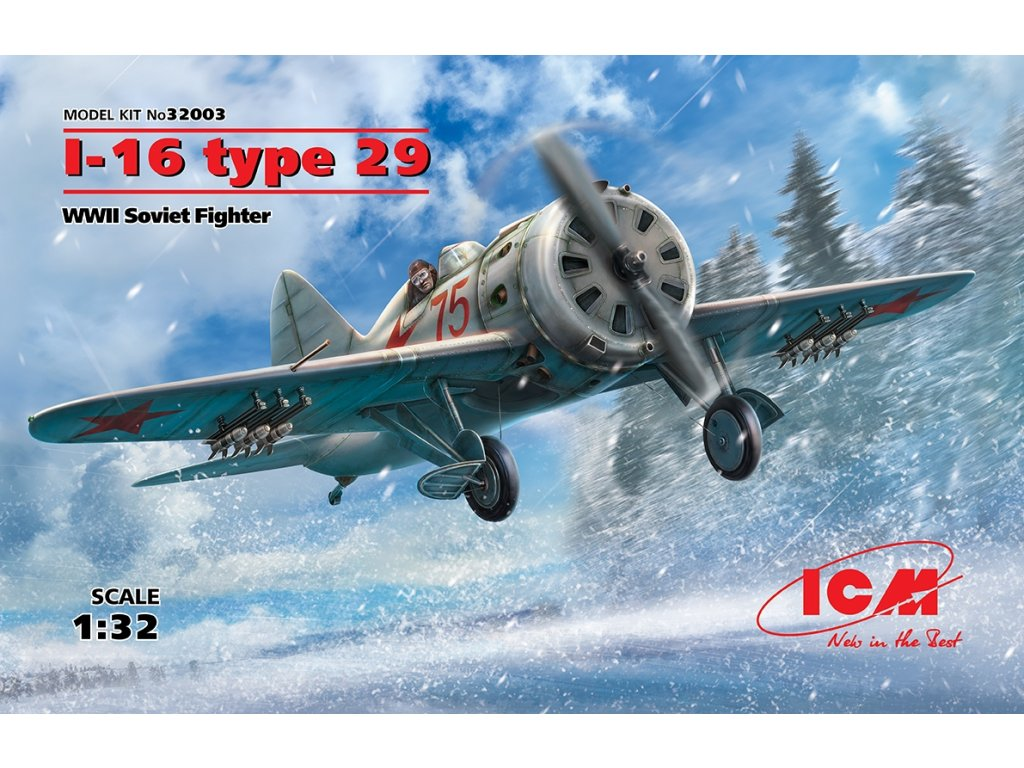 I-16 type 29, WWII Soviet Fighter 1:32