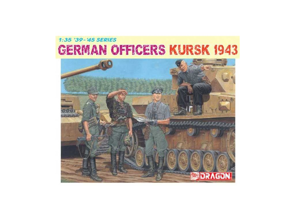 Model Kit figurky 6456 GERMAN OFFICERS KURSK 1943 1 35 a64296676 10374