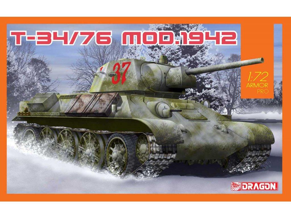 Model Kit tank 7595 T 34 76 Mod 1942 1 72 a94086725 10374