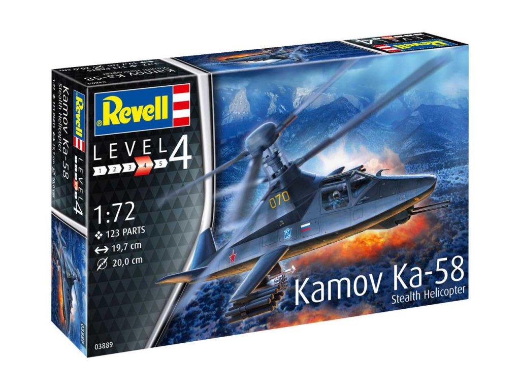 Plastic ModelKit vrtulnik 03889 Kamov Ka 58 Stealth 1 72 a99290203 10374