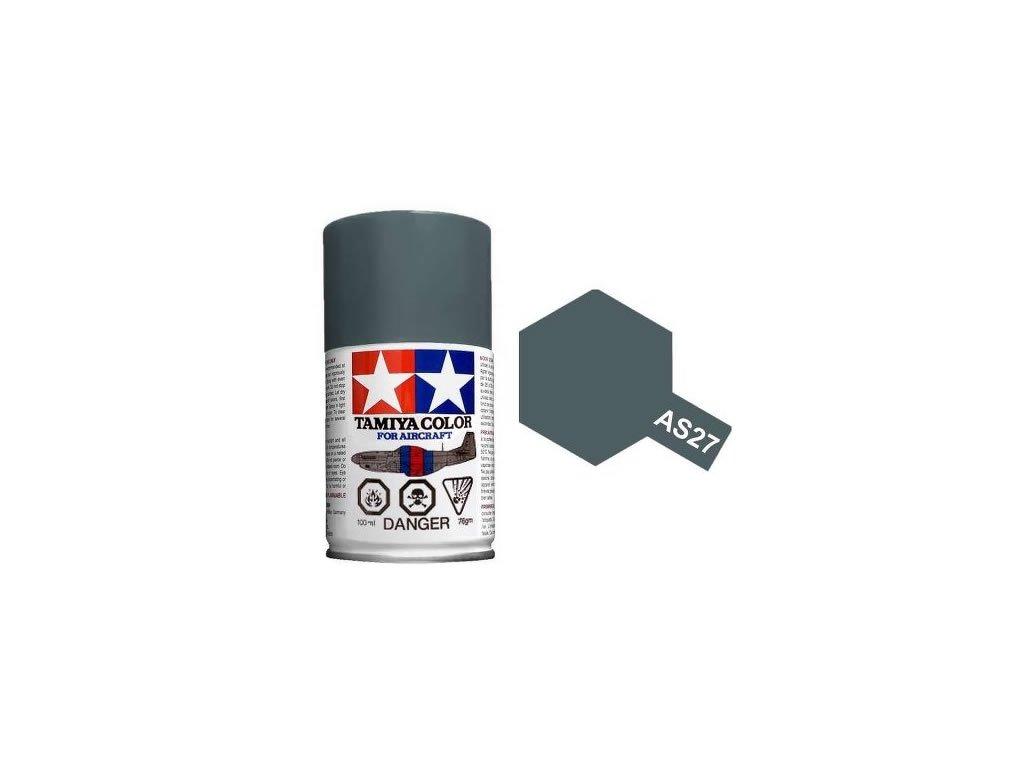 AS86527 Tamiya AS 27 Gunship Grey 100ml Spray Paint for Scale Models 01 640x640