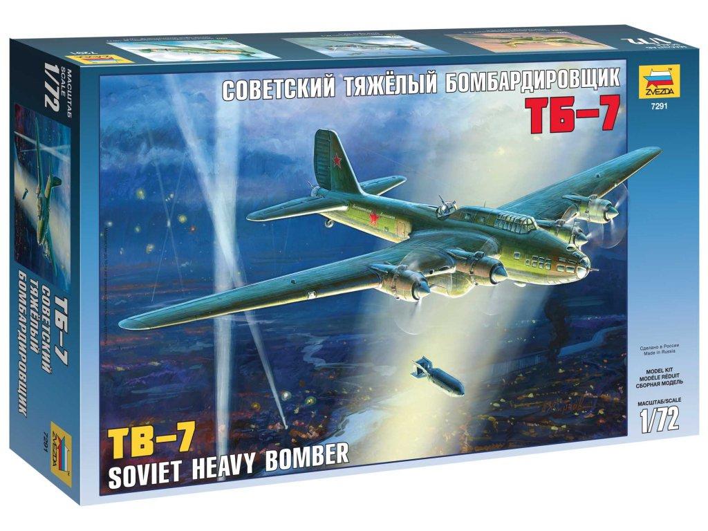 Model Kit letadlo 7291 Soviet Bomber TB 7 1 72 a63858733 10374