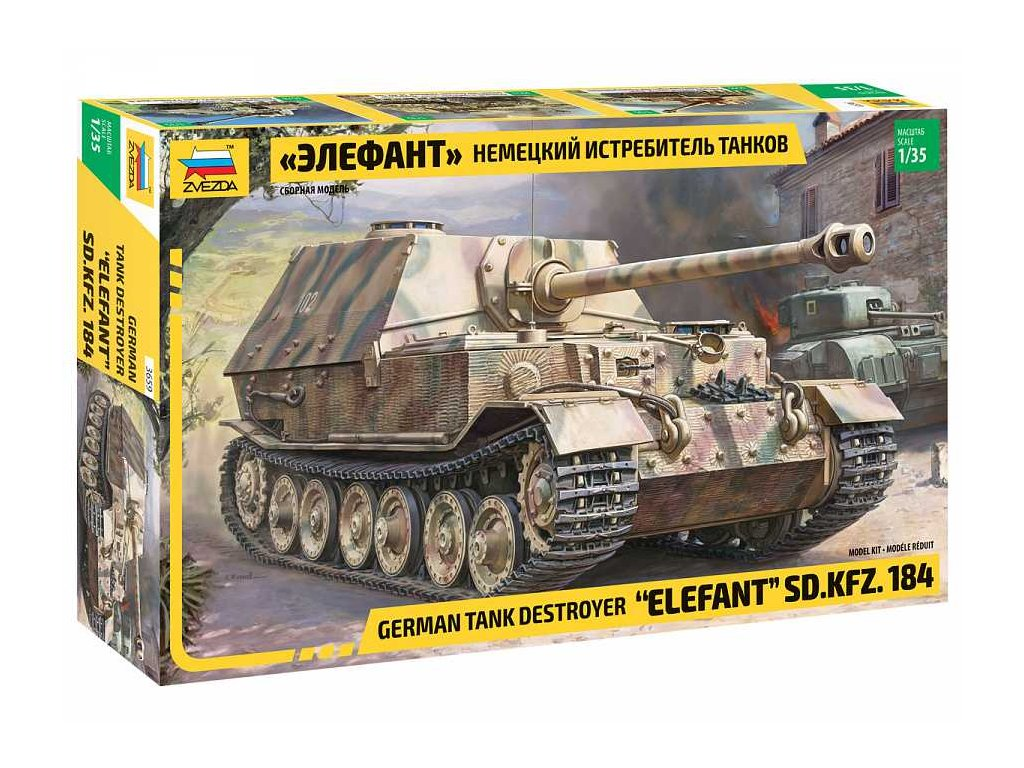 Model Kit military 3659 Elefant Sd Kfz 184 1 35 a98928273 10374
