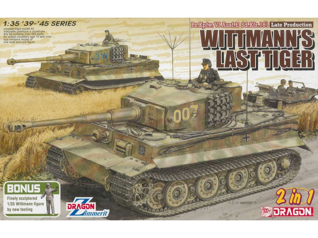 Model Kit tank 6800 WHITMANN S LAST TIGER 1 35 a100149291 10374