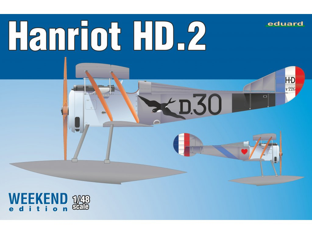 Hanriot HD.2 1:48