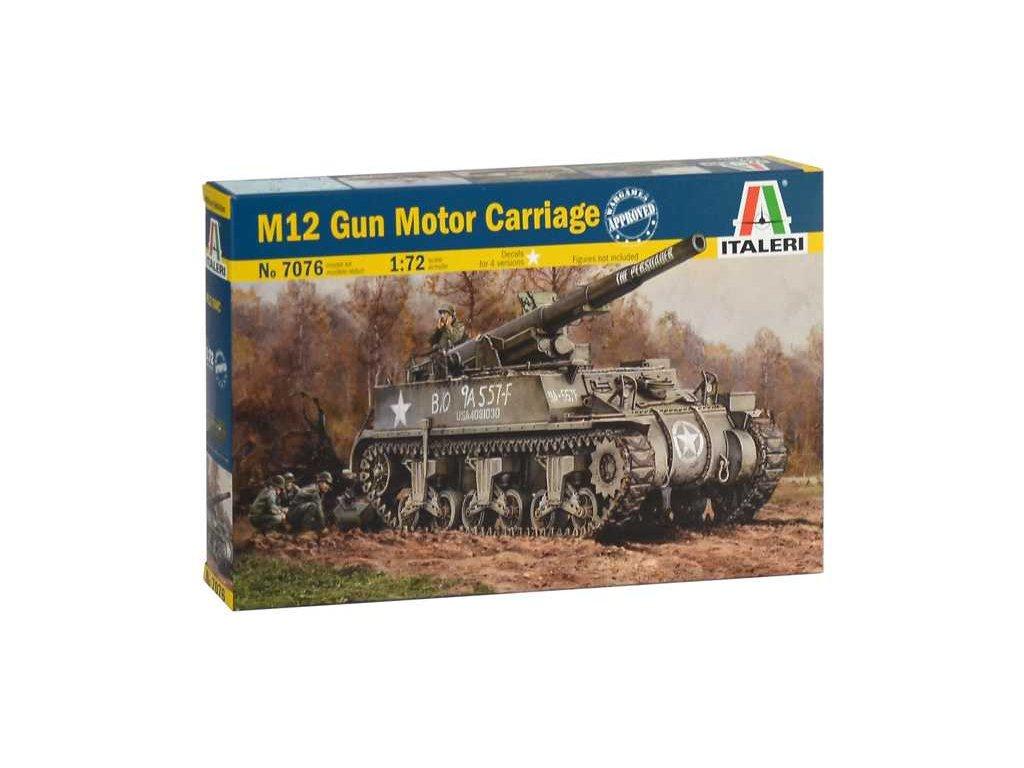Model Kit tank 7076 M12 Gun Motor Carriage 1 72 a99356953 10374