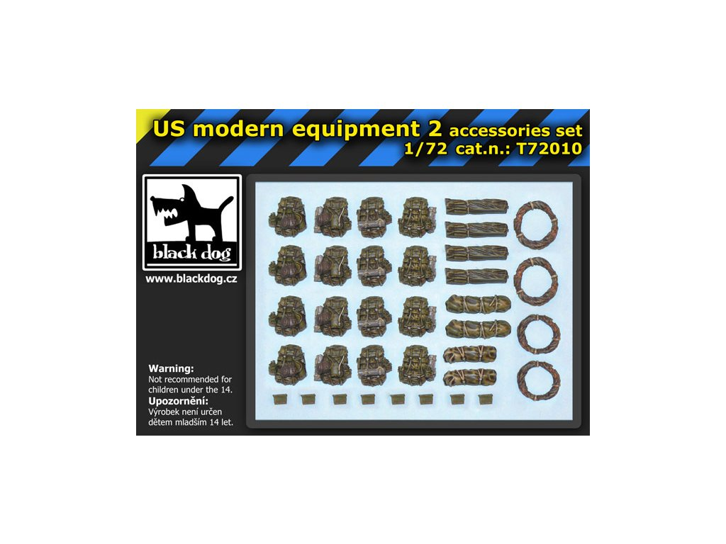 US modern equipment 2 1:72