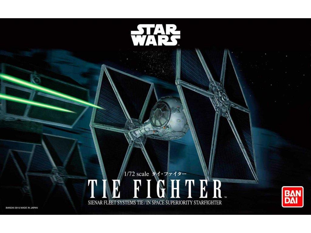 Plastic ModelKit BANDAI SW 01201 TIE Fighter 1 72 a99288476 10374