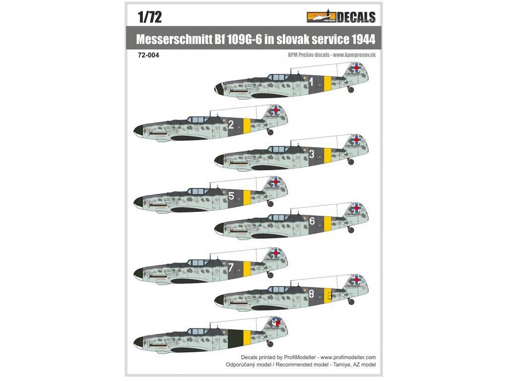 72 004 Bf109G 6